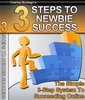 3 Steps To Newbie Success - Make Money From Your Website