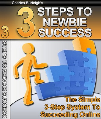 Product picture 3 Steps To Newbie Success - Make Money From Your Website