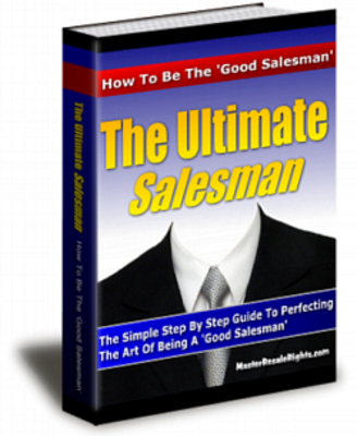 Product picture The Ultimate Salesman